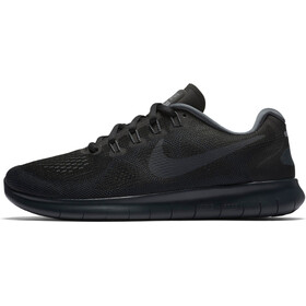 Nike Free RN 2017 Running Shoes Women black/anthracite-dark grey-cool grey